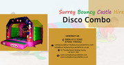 Adult Disco Bouncy Castle